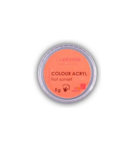 POLVERE ACRILICA COLORATA 5GR – ACRYL LINE HOT SUNSET