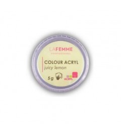 POLVERE ACRILICA COLORATA 5GR – ACRYL LINE JUICY LEMON