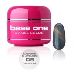 NEW Gel UV BASE ONE MAGNETIC CAMALEONT 08