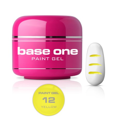 GEL PAINT BASE ONE NEW 12
