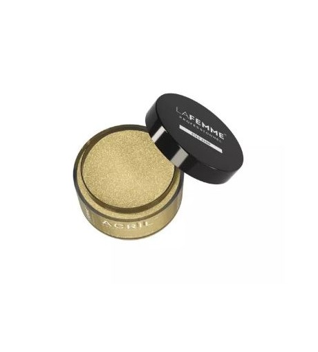 Polvere Acrilica Oro Glitter 18g GOLD SAND – CLEAR & GLITTER