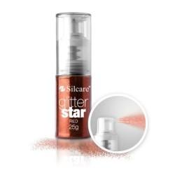 SILCARE- GLITTER SPRAY 25g - ROSSO