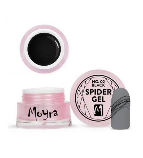 MOYRA® SPIDER GEL 5GR – N.02 BLACK