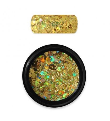 HOLO GLITTER MIX N.07 – DARK GOLD