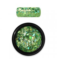 HOLO GLITTER MIX N.08 – GREEN